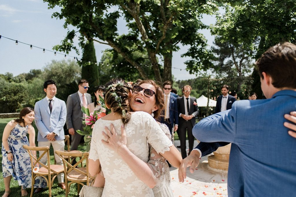 intimate wedding ceremony in Grasse