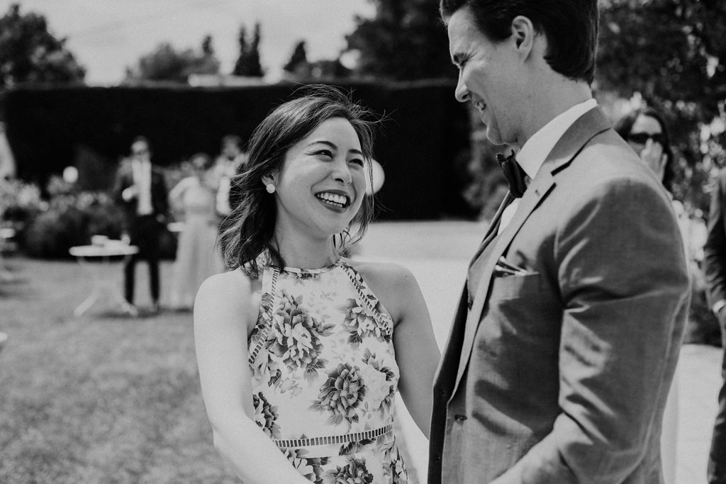 intimate wedding ceremony in Grasse